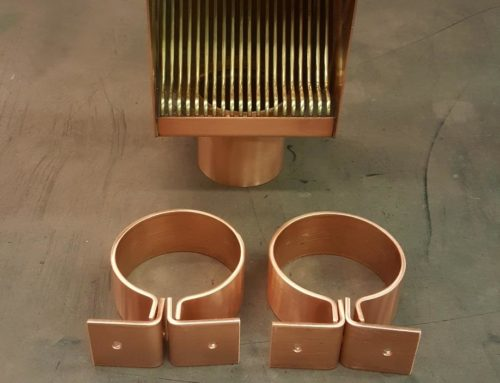 AutoClear Brasstonian and Knoke Copper Downspout Brackets