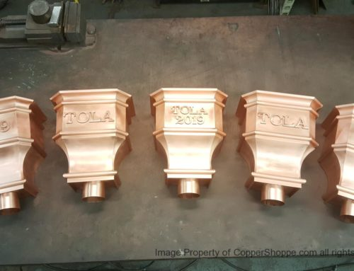 Leeland Copper Leader Heads Collector Boxes