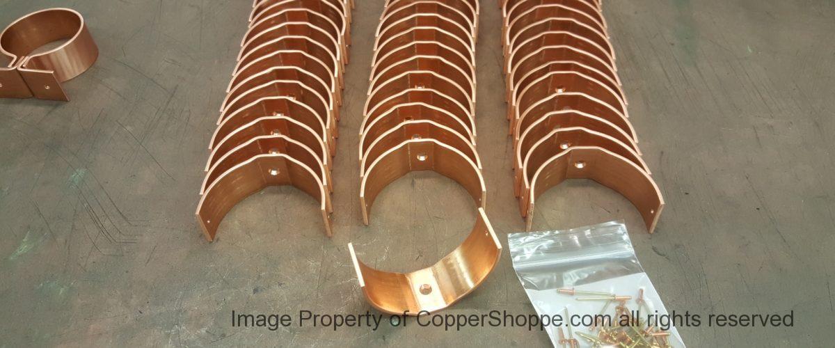 RDSU Copper Downspout Brackets