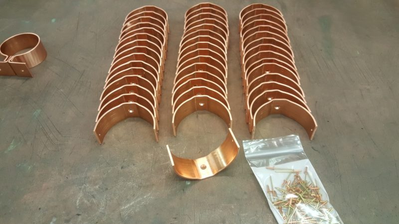 RDSU Copper Downspout Brackets