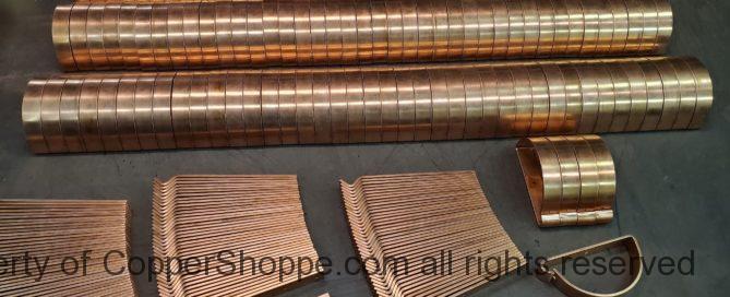 Half Round Roof Mount Adjustable Copper Gutter Brackets
