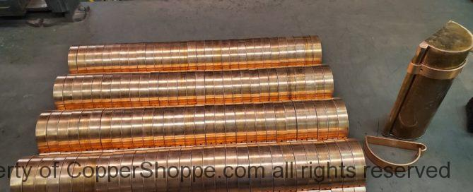 HRRMA Copper Gutter Brackets part two