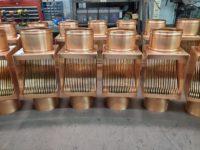 AutoClear I-Series Copper Downspout Cleanouts