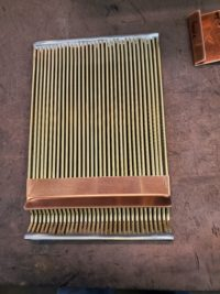 AutoClear Ultra Copper Downspout Clean Out Leaf Diverter Filter