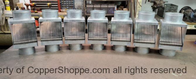 AutoClear Maximus Zinc for 6 inch Round Galvanized Downspouts