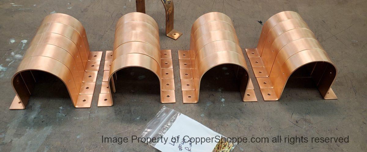 RDSM Copper Downspout Brackets