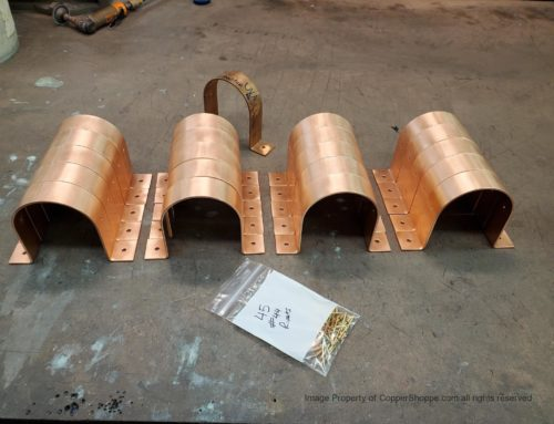 RDSM Copper Downspout Brackets