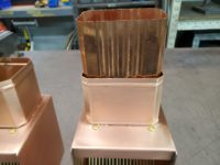AutoClear Copper Downspout Clean Outs Leaf Diverters Filters Screens