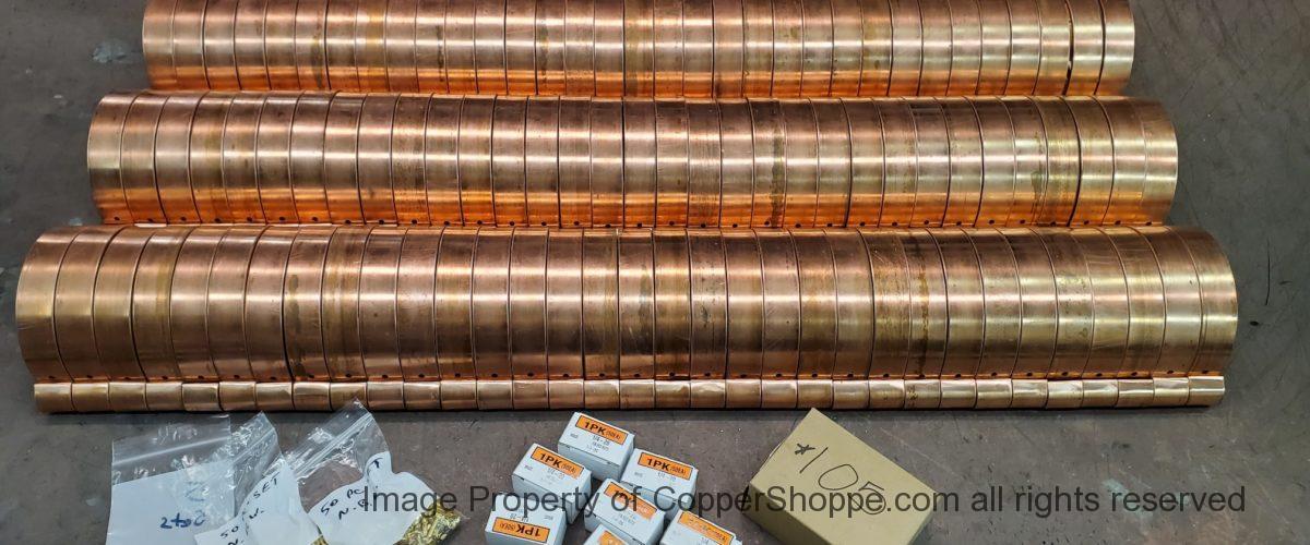 HRRMA Copper Gutter Brackets part two…