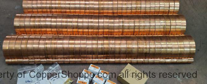 HRRMA Copper Gutter Brackets part two...