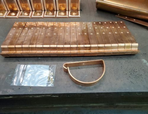 HRRMA Copper Gutter Brackets