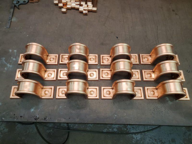 Radmont Radius Ornamental Decorative Copper Downspout Bands