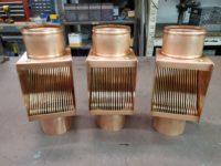 AutoClear I Series Copper Downspout Clean Outs Leaf Debris Diverters Filters