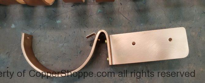 HRCU-48 Copper Gutter Brackets to fit WGS Euro Gutters