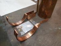 SideRider and HRCU Copper Gutter Brackets