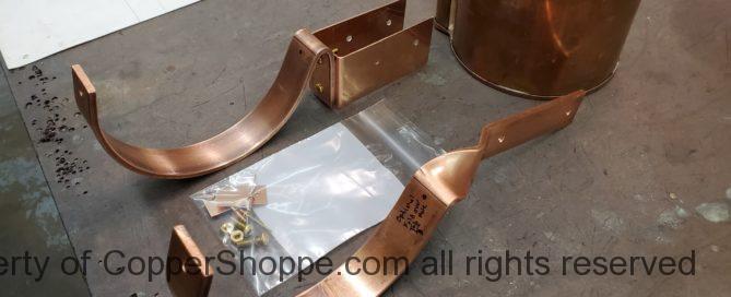 SideRider and HRCU Copper Gutter Brackets