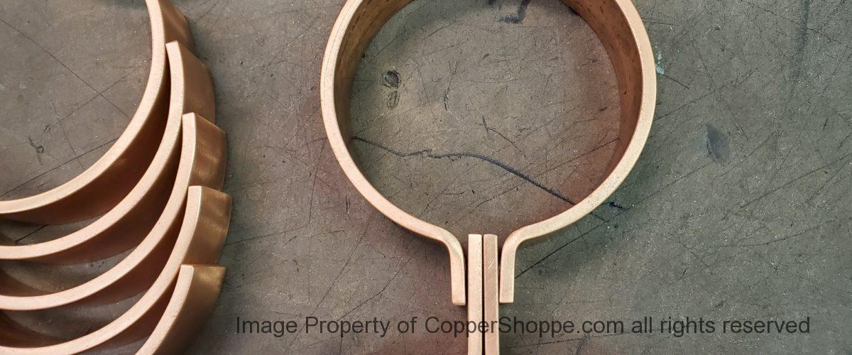Zak Copper Downspout Brackets