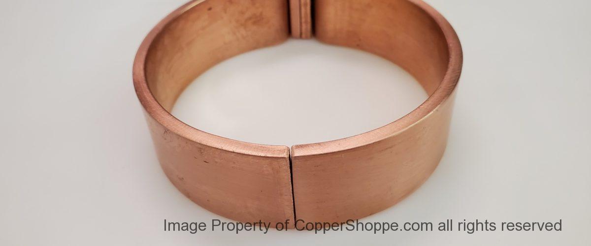 ZAK Copper Downspout Bracket for 4″ Round Downspouts
