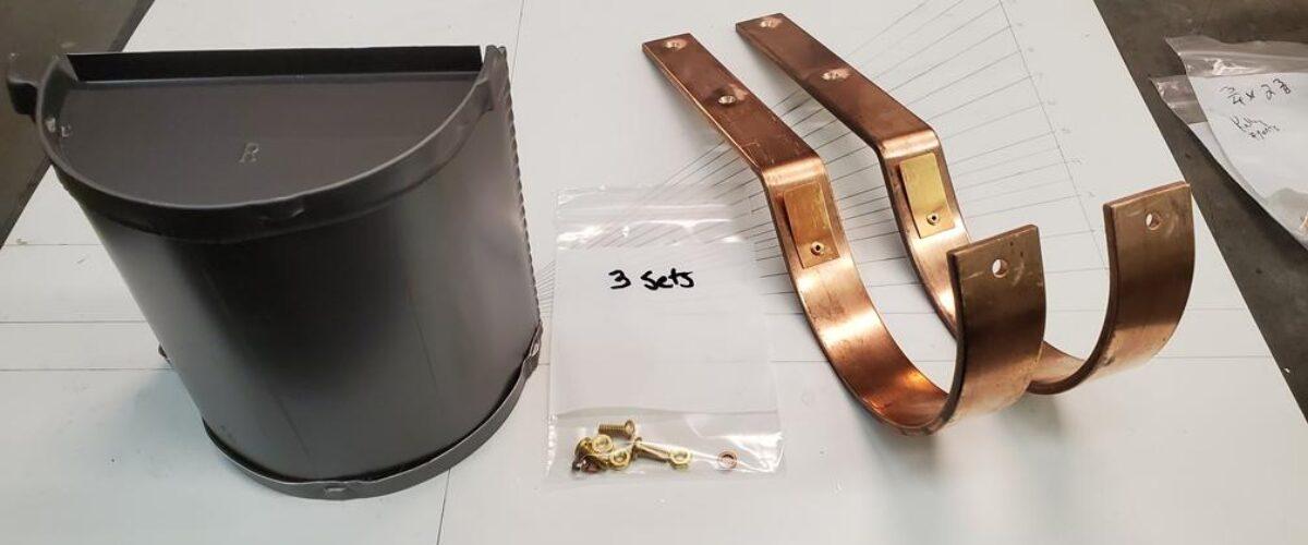 HRRM Copper Gutter Brackets Deja Vu