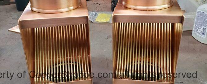 AutoClear 2019 Copper Downspout Leaf and Debris Diverters Filters Screens Cleanouts