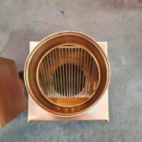 AutoClear 2019 Copper Downspout Leaf and Debris Diverters Filters Screens Cleanouts