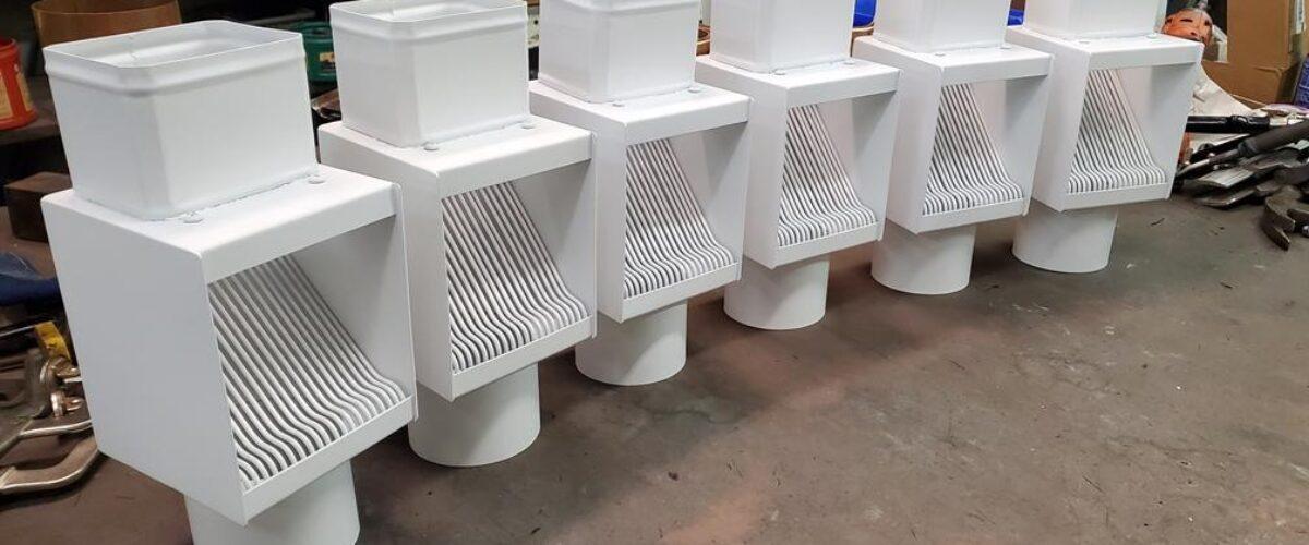 AutoClear PCSS Series Downspout Cleanouts Leaf and Debris Diverters Filters