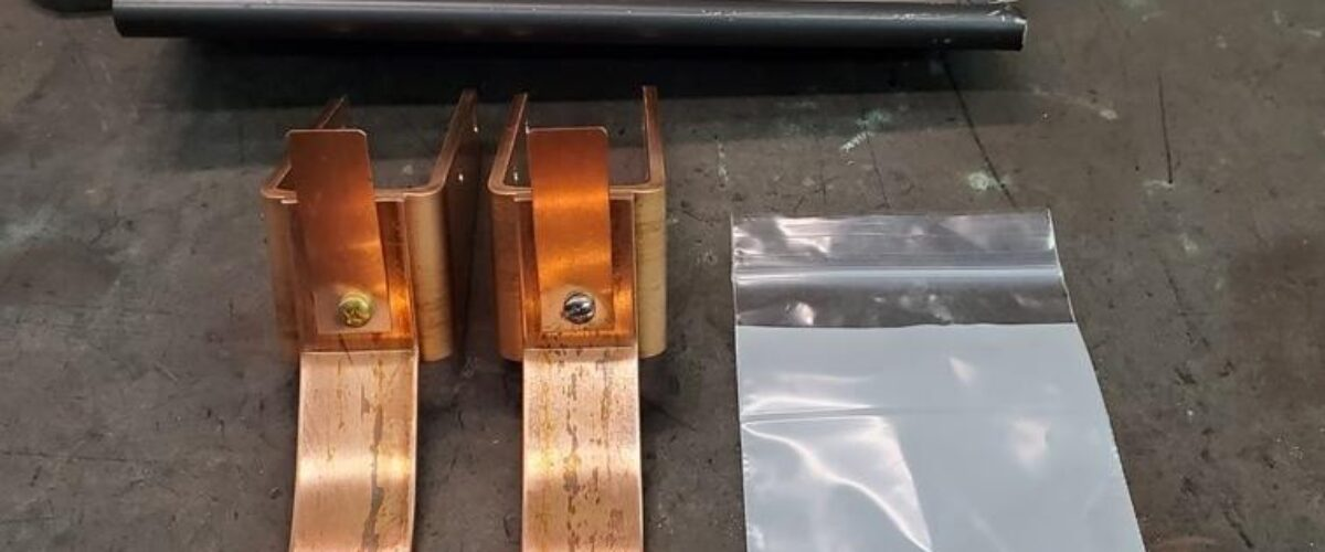 HRU Copper Gutter Brackets for Rafter Mount