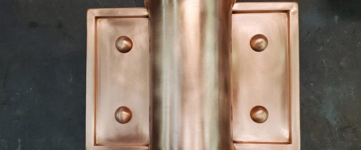 Winthrop Ornamental Decorative Copper Downspout Bands Covers