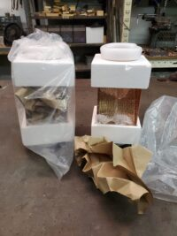 AutoClear I-Copper Downspout Leaf and Debris Diverters Filters