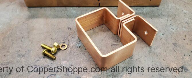 Knoke Copper Downspout Bracket Hanger