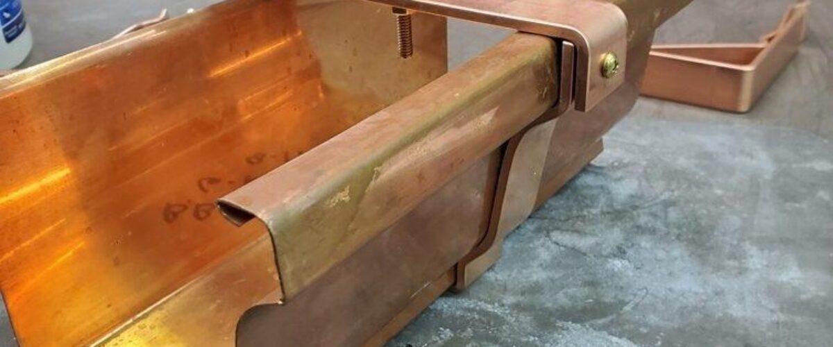 Commander 6K Gutter Brackets for 6″ K-Style Copper Gutters