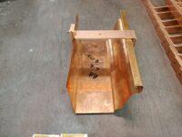 Commander Roof Mount Adjustable Copper Gutter Brackets