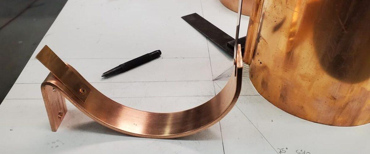 HRC Copper Gutter Brackets
