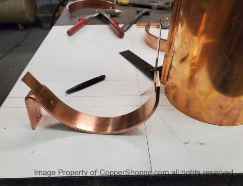 HRC Copper Gutter Brackets