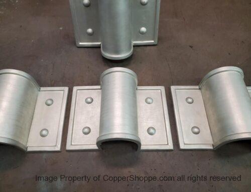 Winthrop Ornamental Decorative Copper Downspout Bands Straps Hangers