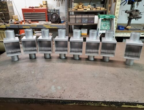Custom Zinc Galvanized Steel AutoClears