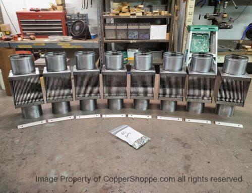 30 Units Custom Mill Finish Steel AutoClears