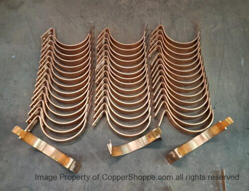 HRCDT Custom Copper Gutter Brackets