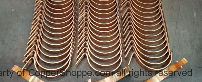 HRCDT Custom Copper Gutter Brackets