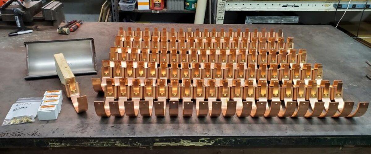HRC Copper Gutter Brackets part 2