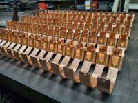 "HRU Copper Gutter Brackets for 6"" Half Round Gutters"