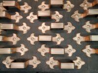 Fleur-de-Lis 3 Ornamental Decorative Copper Downspout BandsFleur-de-Lis 3 Ornamental Decorative Copper Downspout Bands