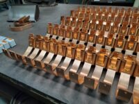 HRU Copper Gutter Brackets for 6 inch Half Round Copper Gutters pt. 3