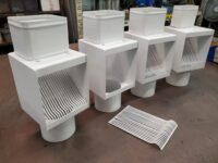 AutoClear I-PCSS Powder Coated Stainless Steel Leaf and Debris Diverters Filters Screens