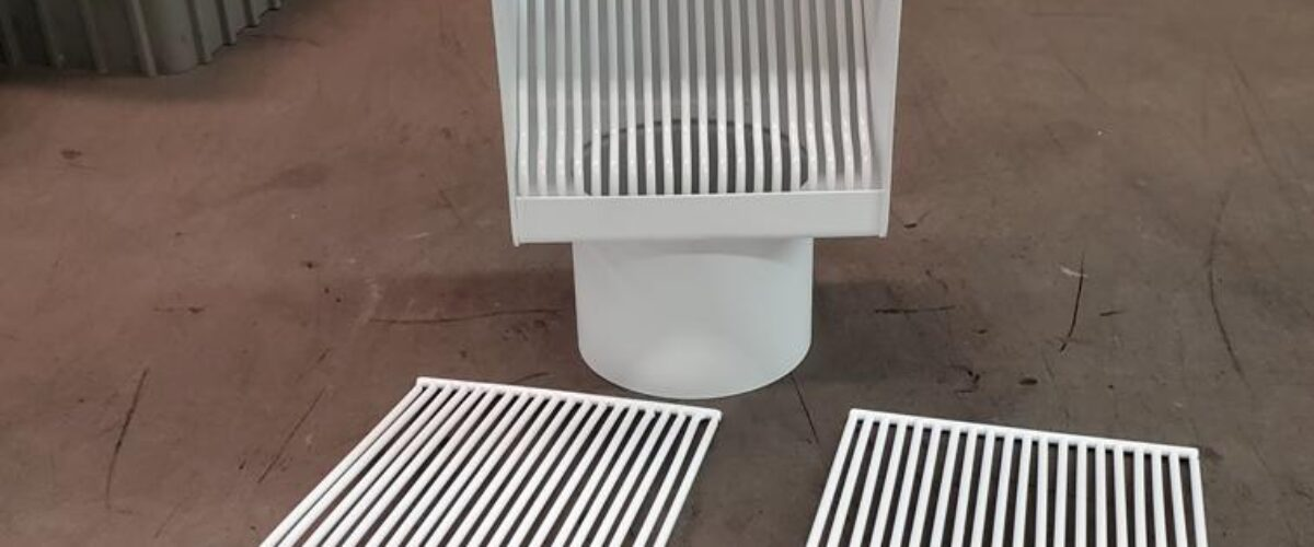 AutoClear I-PCSS Powder Coated Stainless Steel Leaf and Debris Diverters Filters Screens Cleanouts