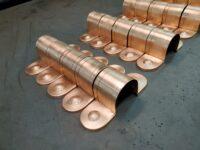 Classica Ornamental Decorative Copper Downspout Bands Straps