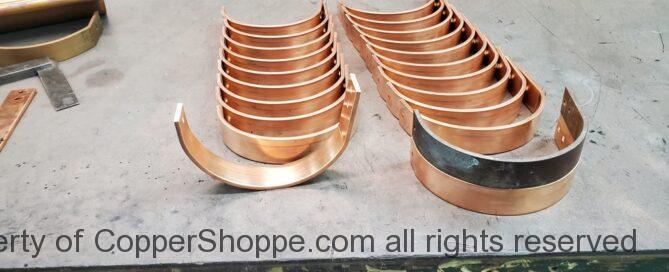 HR Copper Gutter Bracket Hanger