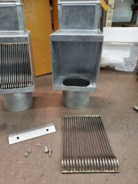 """I-ZINC AutoClears for 4"""" by 3"""" Rectangular Downspouts"""