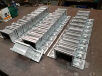 Squaremont Ornamental Downspout Bands in Galvanized Steel