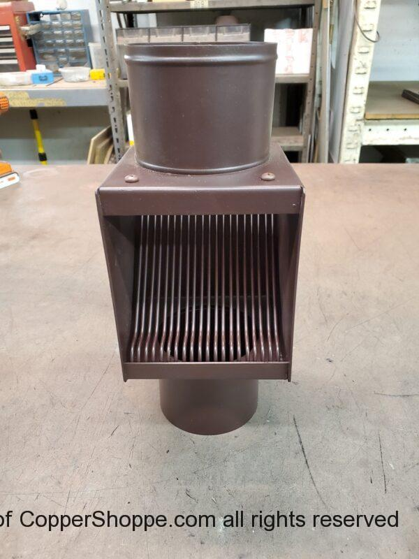 AutoClear I-PCSS 2021 Dark Brown Leaf Diverter Filter Screen Clean Out Powder Coated Stainless Steel